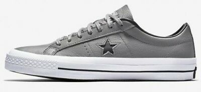 Converse One Star All Star Leather Low Men Shoes Elephant 153712C Size 10.5 New