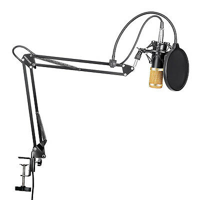 Neewer NW-800 Recording Condenser Microphone and Adjustable Arm Stand Kit