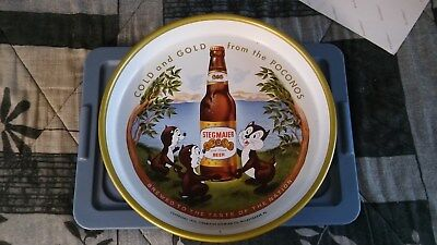 Stegmaier Gold Medal Beer Serving Tray Sign **Pristine Condition !!**