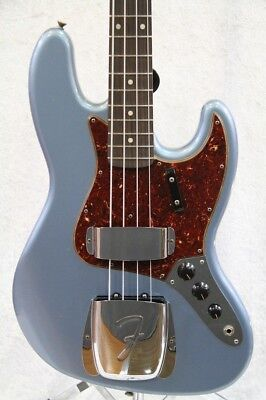 Fender CS: TB1962Jazz Bass Journeyman Blue Ice Metallic MH NEW
