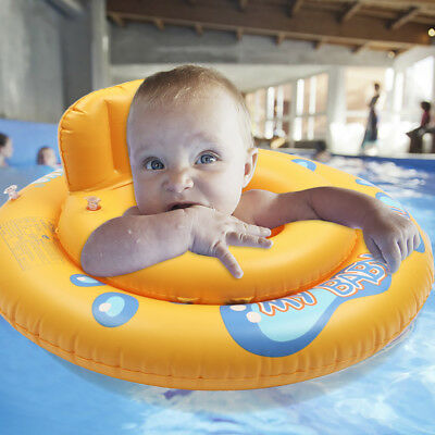Baby Swim Ring Inflatable Toddler Float with seat Swimming Ring Pool Infant Kid