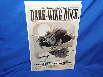 Darkwing Duck #3 Cover C Incintive Variant Limited Edition NM- 2010 Boom Disney