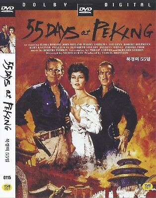 55 Days at Peking (1963) Charlton Heston / Ava Gardner DVD NEW *FAST SHIPPING*