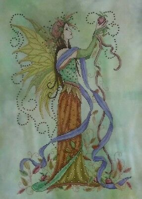 Autumn Fairy Cross Stitch - Completed (Postage to AU, US & UK Only)