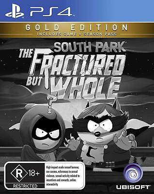 South Park The Fractured But Whole GOLD Edition PlayStation 4 PS4 GAME BRAND NEW