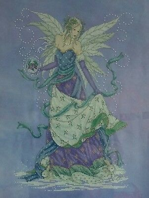 Winter Fairy Cross Stitch - Completed(Postage to AU, US & UK Only)