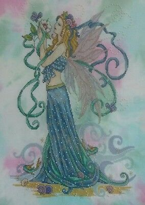 Summer Fairy Cross Stitch - Completed(Postage to AU, US & UK Only)