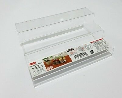Clear Acrylic Perspex Sturdy Jewellery Display Riser Stand Showcase Stair Sale