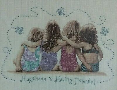 Friends Cross Stitch - Completed(Postage to AU, US & UK Only)