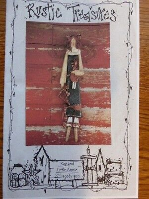 """Wood Craft Pattern """"Kay and Little Annie"""""""