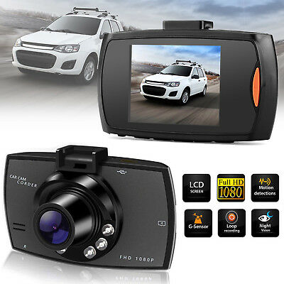 "2.4"" 1080P LCD Dash Cam Night Vision Auto DVR Recorder HD Car Camera G Sensor"