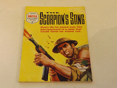 BATTLE PICTURE LIBRARY NO 129,dated 1963 !,GOOD FOR AGE,VERY RARE,56 yrs old.