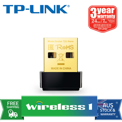 Brand New TP-Link Archer T2U Nano AC600 Nano Wireless USB Adapter