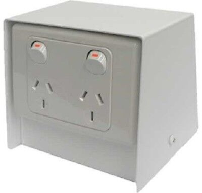 Electric Cable Duct Systems ABOVE FLOOR BOX Stainless Steel- 125mm Or 250mm