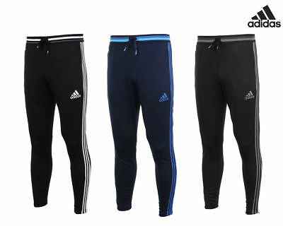 23ca55177b6 Adidas Condivo 16 Mens Skinny Fit Training Pants Tracksuit Bottoms Black  Grey Bl