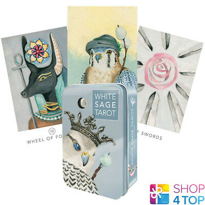 White Sage Tarot Cards Deck By Theresa Hutch  Us Games Systems New
