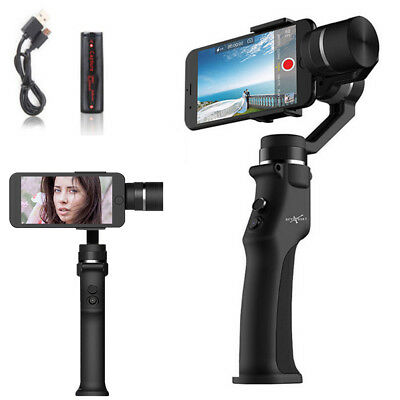 3-Axis 360° Handheld Cinematic Stabiliser Gimbal w Battery For Smartphone iPhone