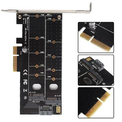 Good M.2 Nvme Ssd Ngff To Pcie X16 Adapter Mkey Port Card Pci-e 3.0 X16 Pci Express Card Full Speed Rgb Led Do You Want To Buy Some Chinese Native Produce? Computer & Office