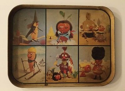 Vintage Willow Australia Cartoon SERVING TRAY The VEGAPEOPLE