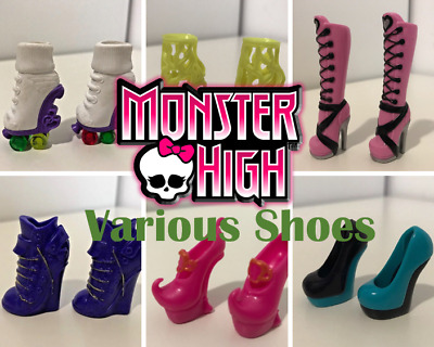 Monster High Doll Replacement Shoes Boots Footwear Heels Accessory VGC