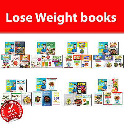 101 Ways to Lose Weight books set Diet Bible, Intermittent Fasting, Whole Food