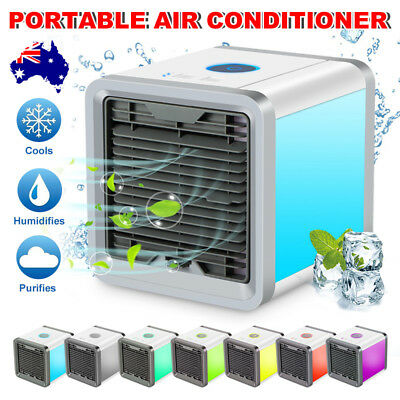 Portable Air Cooler Conditioner NEW Cool Cooling For Bedroom Car Mini Fan AU