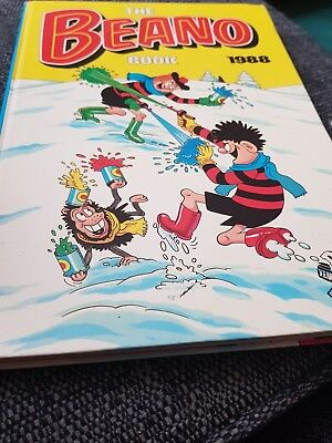 The Beano Book 1988 X Very Good Condition X 751 X