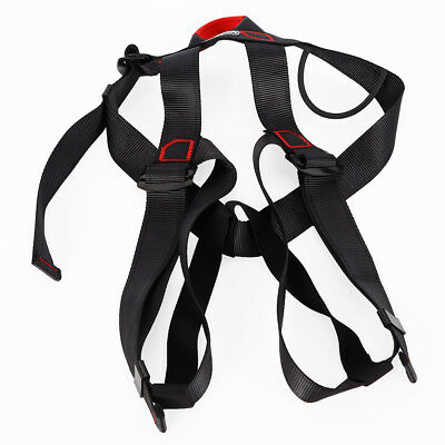 Safety Rock Tree Climbing Rappelling Harness Seat Sitting Bust Belt