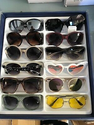 Job Lot 24 pairs of assorted sunglasses - Car Boot - Resale - Wholesale -REF206