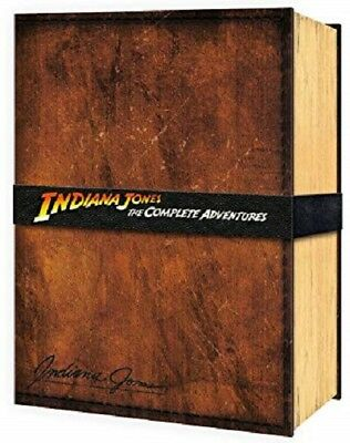 Indiana Jones  The Complete Adventures   Collectors Rare Limited Edition