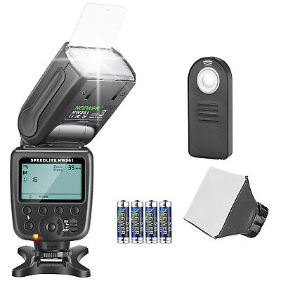 Neewer NW561 Speedlite Flash Kit for Canon Nikon Olympus Fujifilm DSLR Cameras