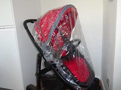 New RAINCOVER Zipped to fit Graco Evo Carrycot & Pushchair Seat Unit