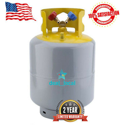 Refrigerant Recovery Reclaim Cylinder Tank 50lb Pound 400 PSI NEW