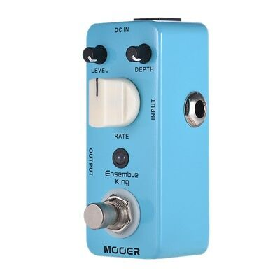 1X(MOOER Ensemble King Analog Chorus Guitar Effect Pedal True Bypass Full M E2G0