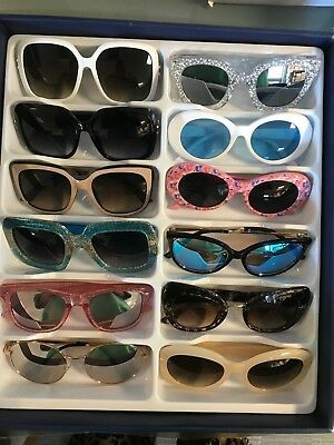 Job Lot 24 pairs of assorted sunglasses - Car Boot - Resale - Wholesale -REF208