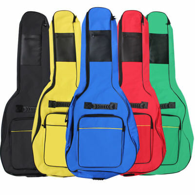 Padded Bag Guitar Full Case Holder Carry Back Acoustic Size Protective Classical