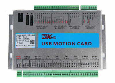 Mach4 CNC 4 Axis Motion Control Card USB 2MHz Breakout Board for Machine