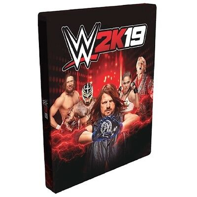 WWE 2K19 Limited Edition Steelbook Case [PS4 / Xbox One] (Game not included)