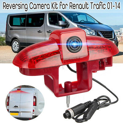 Car Reversing Camera Backup Rear View Brake Light Integration For Renault Trafic