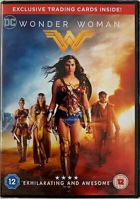 Wonder Woman (2017) DVD & Digital Copy Brand New & Sealed Trading Cards Incl.