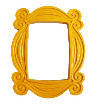 FRIENDS TV Show Monica's Peephole Frame Yellow Wood Door Photo Frame Collection