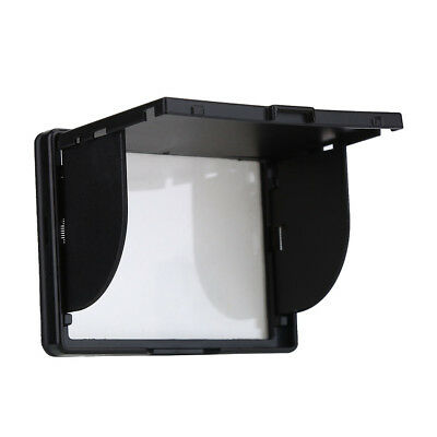 Camera LCD Monitor Screen Cover Sun Shade Hood Flexible Protective Cover Plastic