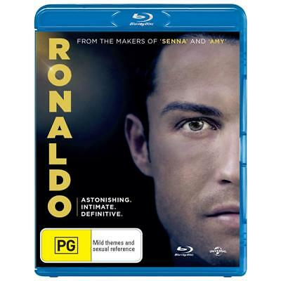 RONALDO movie Blu-ray BRAND NEW SEALED Region B FREE POSTAGE