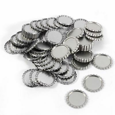 1X(1 Inch Bottle Caps For Crafts Wall Decor Flattened Bottle Cap Without Ho A8M1
