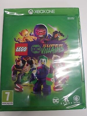LEGO DC Super-Villains XBOX ONE Game- BRAND NEW AND SEALED