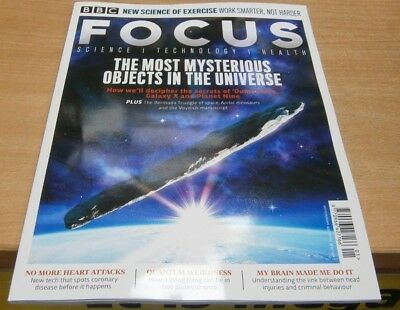 BBC Focus magazine Jan 2019 The Most Mysterious objects in the Universe Oumuamua