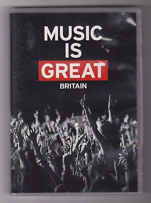 Various Artists - Live Music Is Great Britain ~  (DVD)  Region Free ~ NTSC