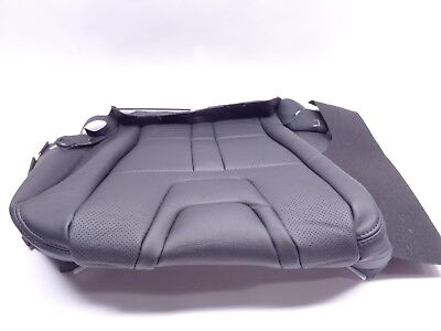Genuine Toyota Hilux Double Cab Premium Black Leather Seat Base Cushion Cover