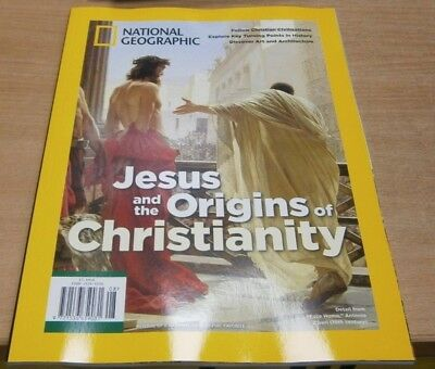 National Geographic magazine Special 2019 Jesus Christ &the Origins Christianity
