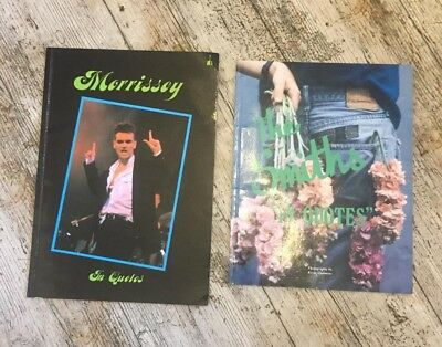 Morrissey In Quotes. The Smiths in Quotes. 2 early books on the Smiths.